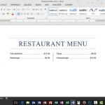 Using Tab Leaders and Tab Stops in Microsoft Word