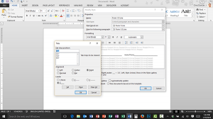 Creating a Form Using Tab Leaders and Styles in Microsoft Word